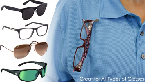 Rajlaxmi Stainless Steel Magnetic Eyeglass Holder